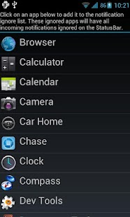 Jelly Bean StatusBar - screenshot thumbnail