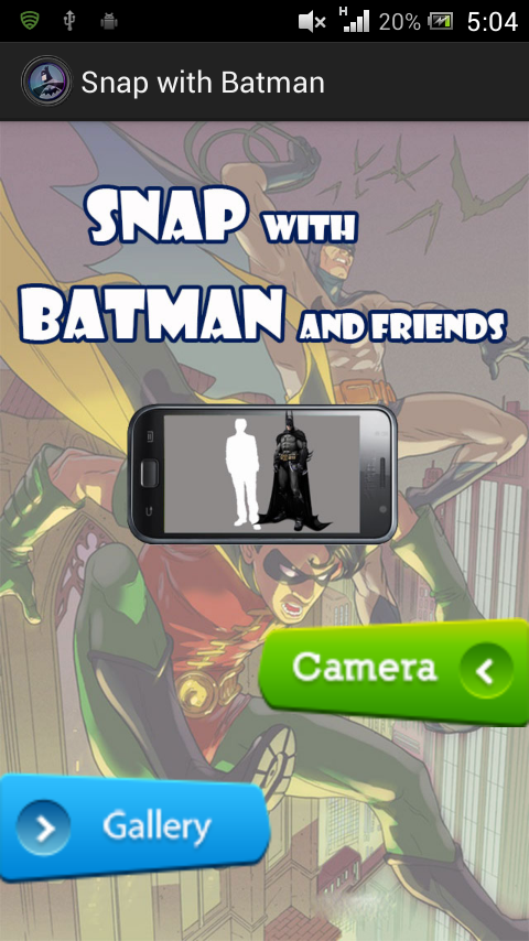 Snap with Batman - screenshot