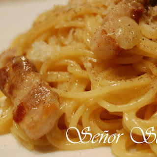 Original Spaghetti Carbonara.