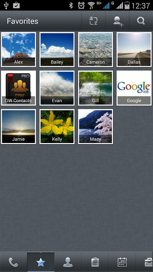 DW Contacts & Phone & Dialer - screenshot