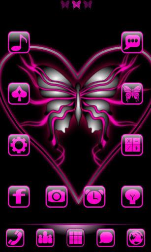 Butterflyglow GoLauncherTheme