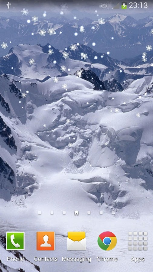 new year snow live wallpaper android apps on google play