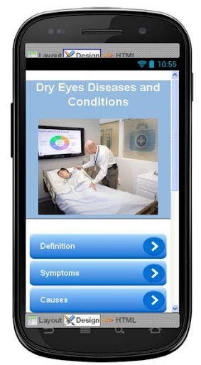 Dry Eyes Disease Symptoms