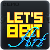 Let's 8 bit Art Demo