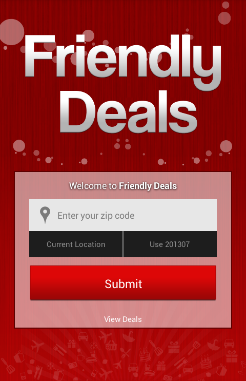 Friendly Deals- screenshot