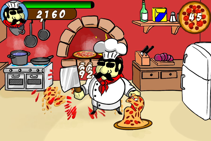 Horror Pizza 1: Pizza Zombies- screenshot