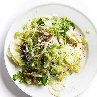 Shaved Fennel & Celery Salad.
