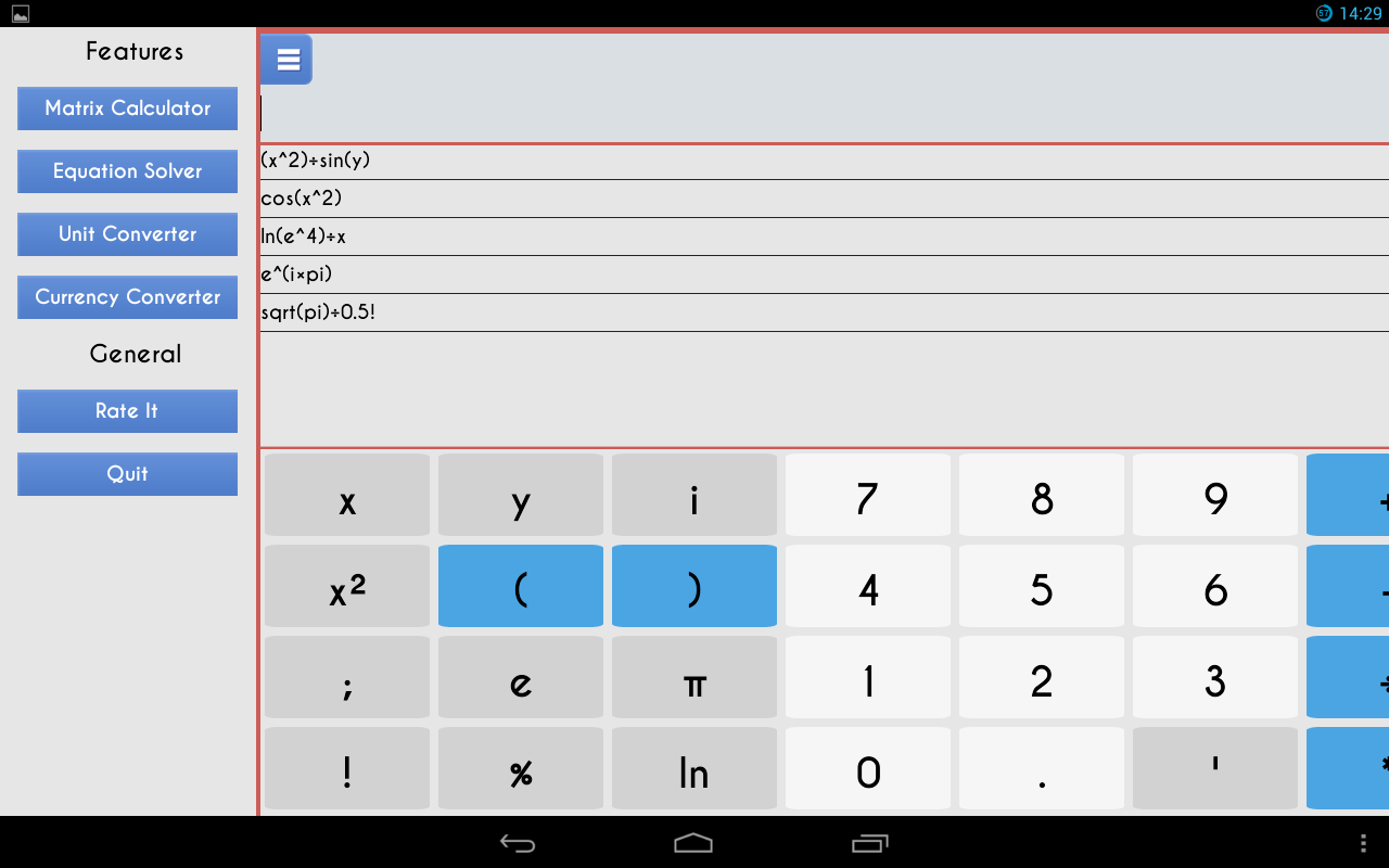 Scientific Calculator 3D Free - screenshot
