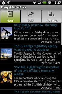 Energy Market Price - screenshot thumbnail