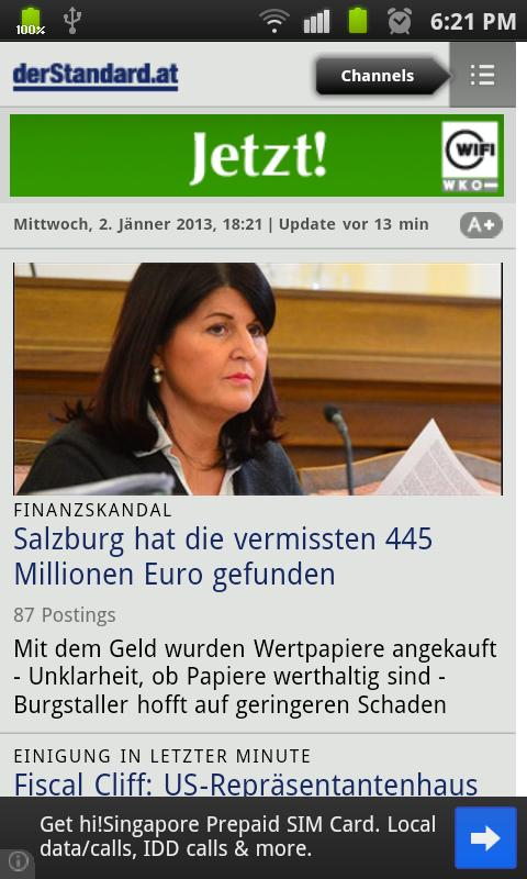 All Newspapers of Austria-Free - screenshot