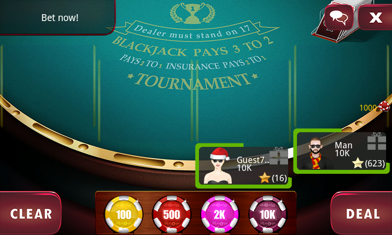 BlackJack 21 Live - Casino - screenshot