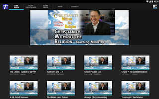 Screenshot of Christianity Without Religion