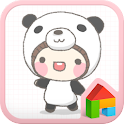 Panda Bebe Dodollauncher theme icon