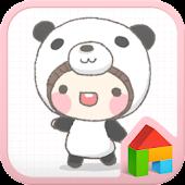 Panda Bebe Dodollauncher theme