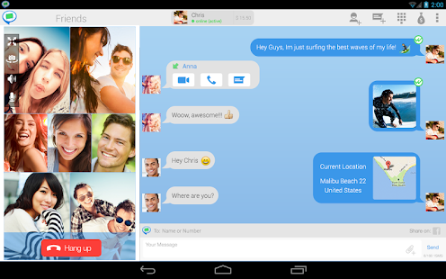 Video Chat by FriendCaller - screenshot thumbnail
