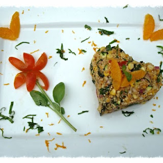 Orange Basil Quinoa Salad.
