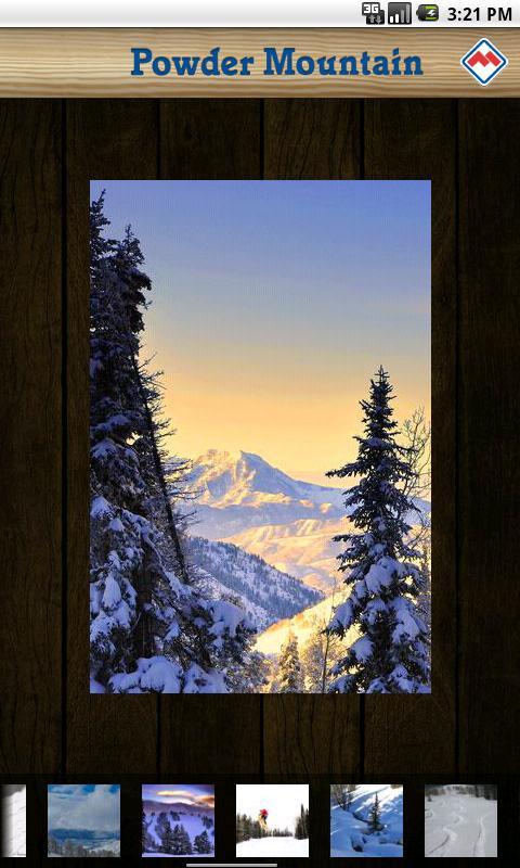 Powder Mountain Resort App - screenshot