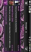Screenshot of GO SMS - Periwinkle