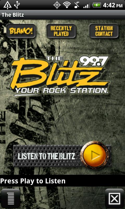 99.7 The Blitz – WRKZ - screenshot