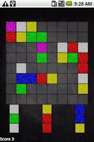 Screenshot of Coloris Puzzle