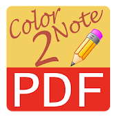 Text - Color Note To PDF