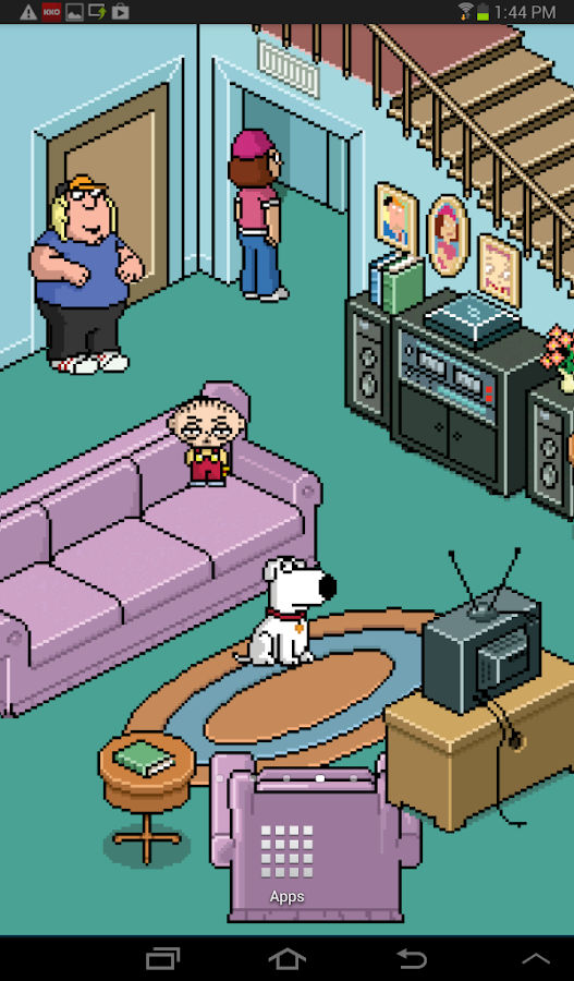 Family Guy Live Wallpaper - screenshot
