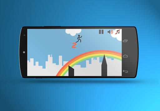 【免費街機App】Run Stickman Free-APP點子
