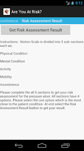 Norton Scale 4 Pressure Ulcer- screenshot thumbnail