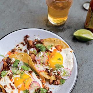 Chorizo Breakfast Tacos.