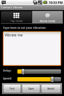 Contact Vibrate - screenshot thumbnail