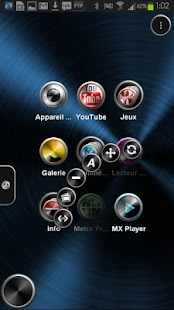 TSF Shell Theme Metal HD - screenshot thumbnail
