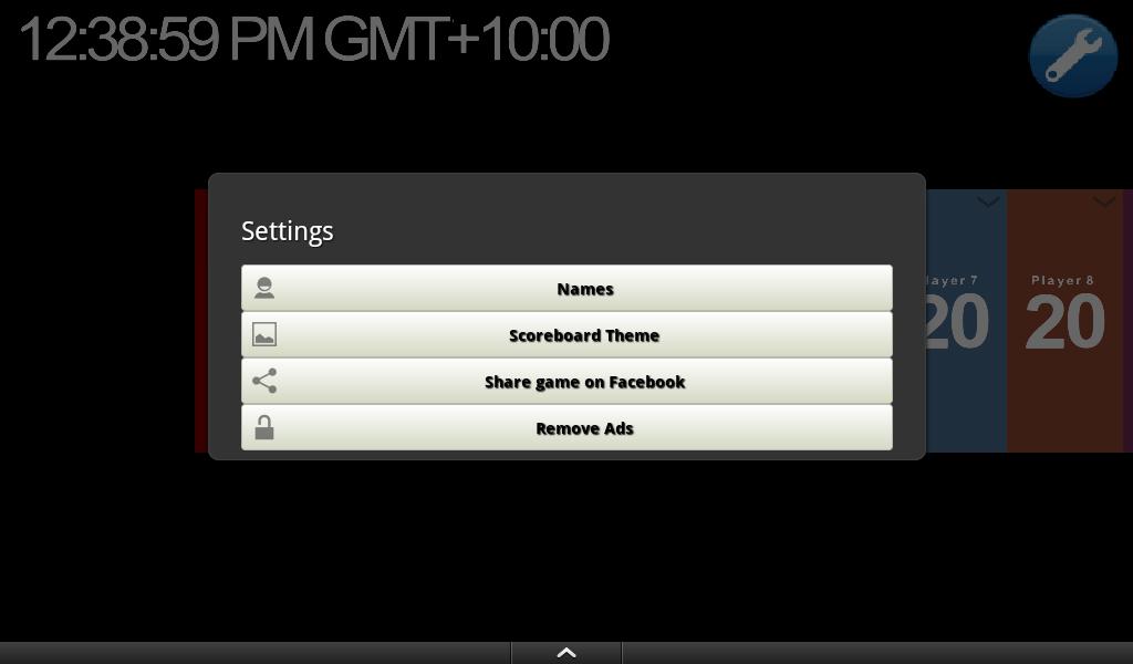 Score Keeper- screenshot