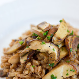 Farro and Porcini Mushrooms (farro con funghi).