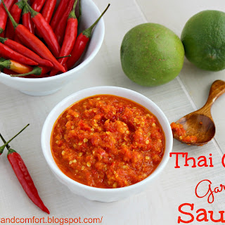 Thai Garlic Chili Sauce Recipe