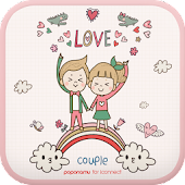Cutecouple Heart go launcher
