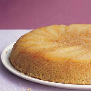 Maple-Pear Upside-Down Cake.