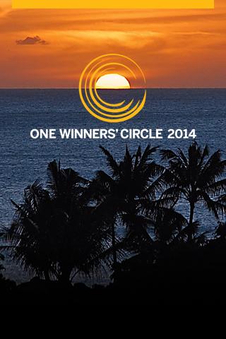 ONE Winners' Circle 2014