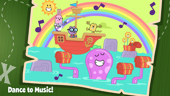 Wubbzy's Pirate Treasure- screenshot thumbnail