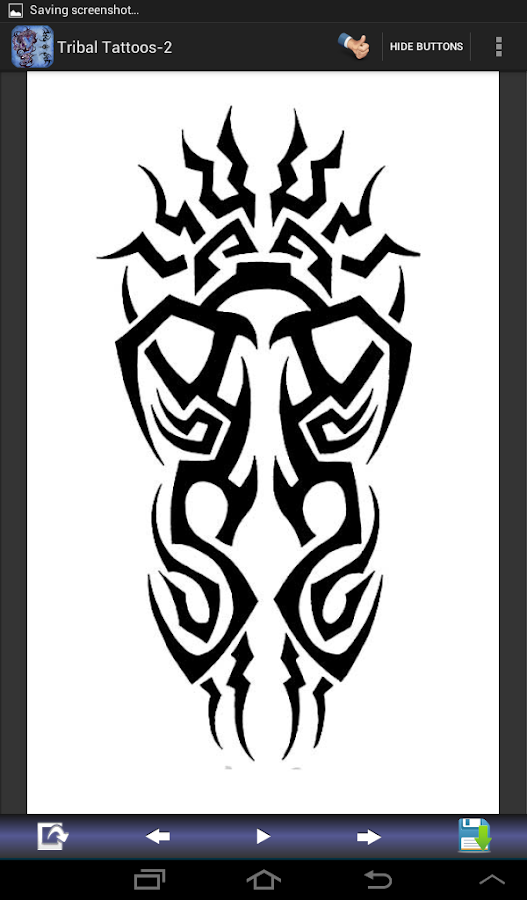 Tribal Tattoo Designs Set-2 - screenshot