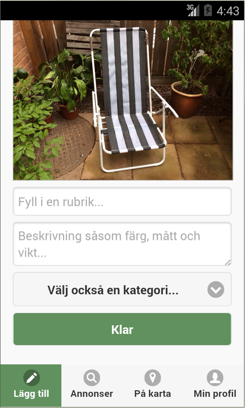 Bortskänkes - screenshot