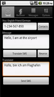 SMS Translator- screenshot thumbnail