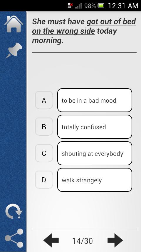 Pocket Verbal Ability- screenshot