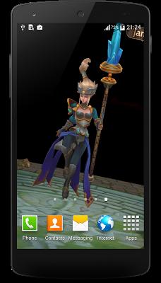 3D LWP E-K - League of Legends - screenshot