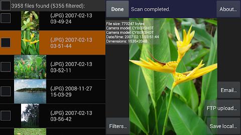 DiskDigger photo recovery Screenshot 17