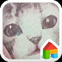 cat dodol launcher theme icon