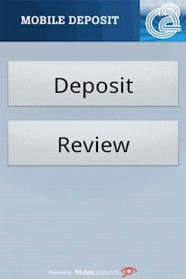 O2 Mobile Deposit - screenshot thumbnail