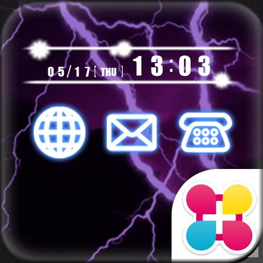 雷の壁紙 Lightning Icon