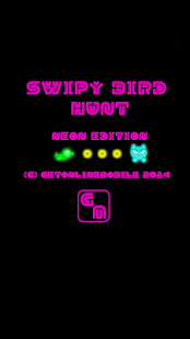 Fancy Swipy Bird Hunt - Neon - screenshot thumbnail
