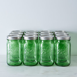 Green Ball American Heritage Collection Quart Jars (Set of 12)