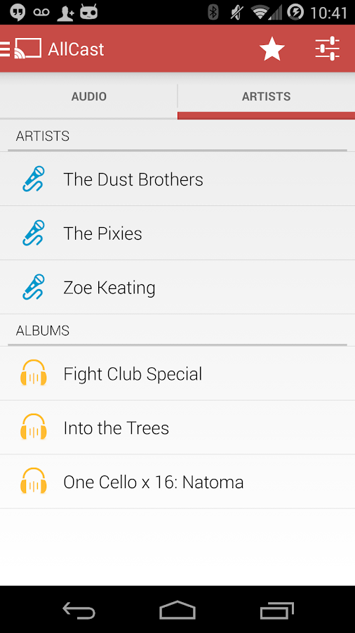 AllCast Receiver- screenshot